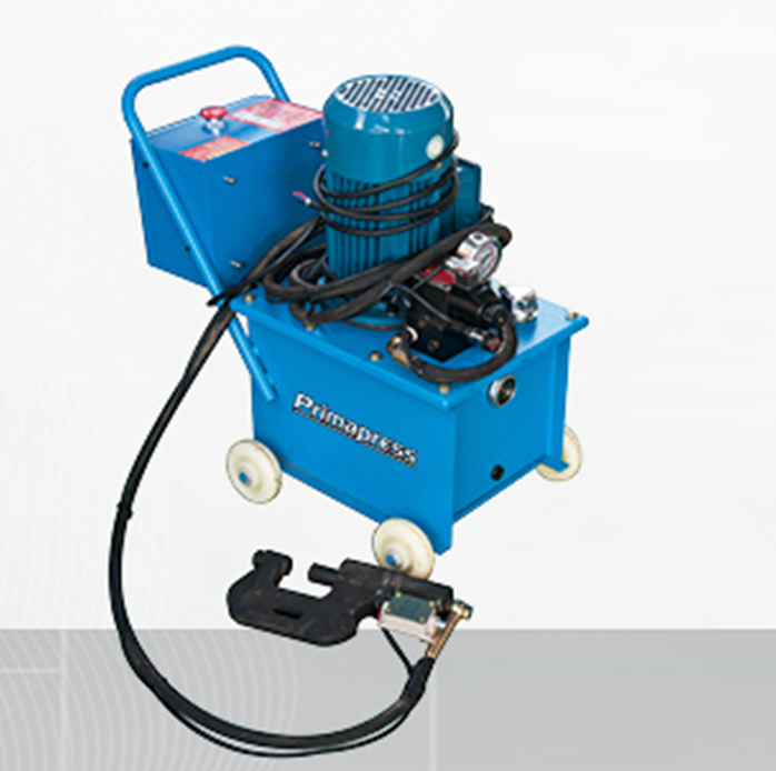 Portable Duct tube angle iron flange riveting machine – Ma