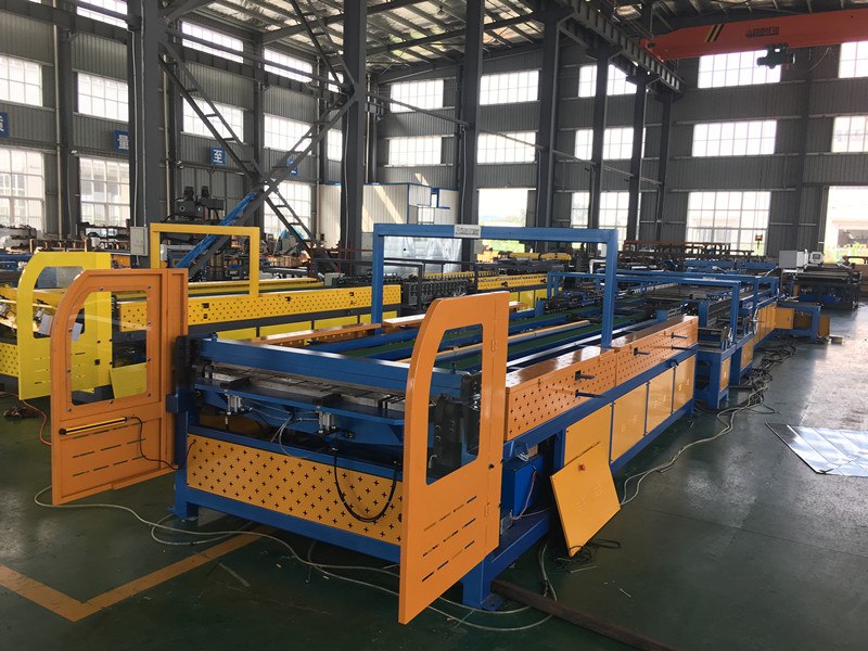 Duct Board Manufacture Auto Line V Duct Production Line